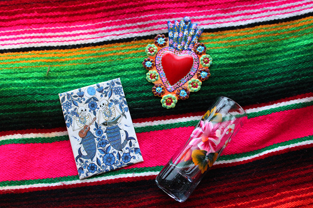 Mexican Folk Art - Valentine's Day - Hey Mishka - Michelle Christina Larsen 6
