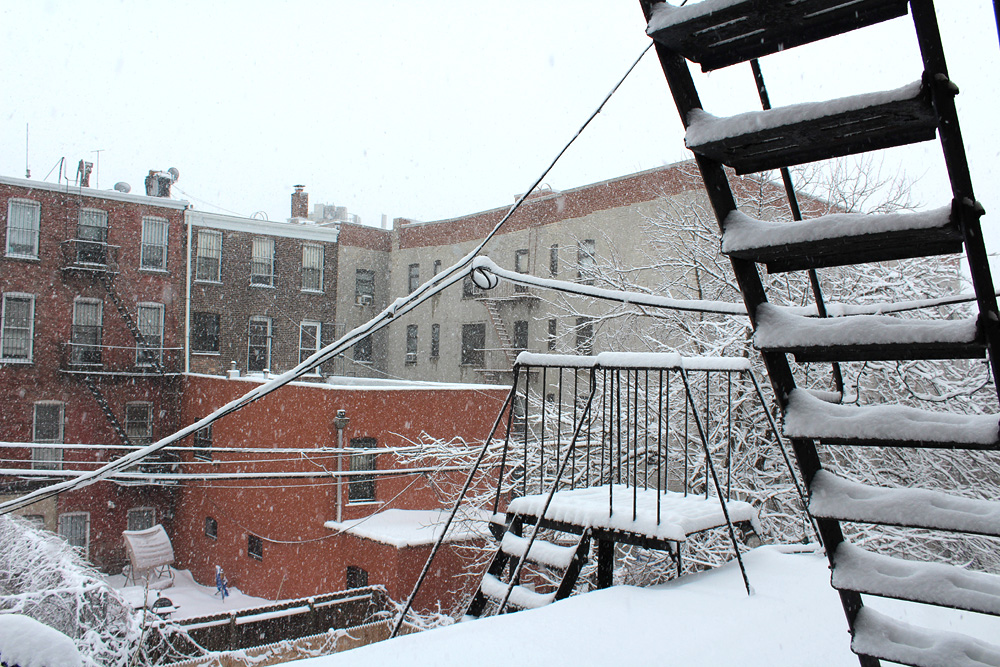 Snowy Day In Brooklyn - Snow Photos Brooklyn - Hey Mishka - Michelle Christina Larsen - 6