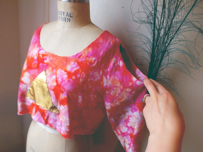 DIY: Applique Cut-Out Crop Top - Hey Mishka Creative Living Blog - Michelle Christina Larsen 2
