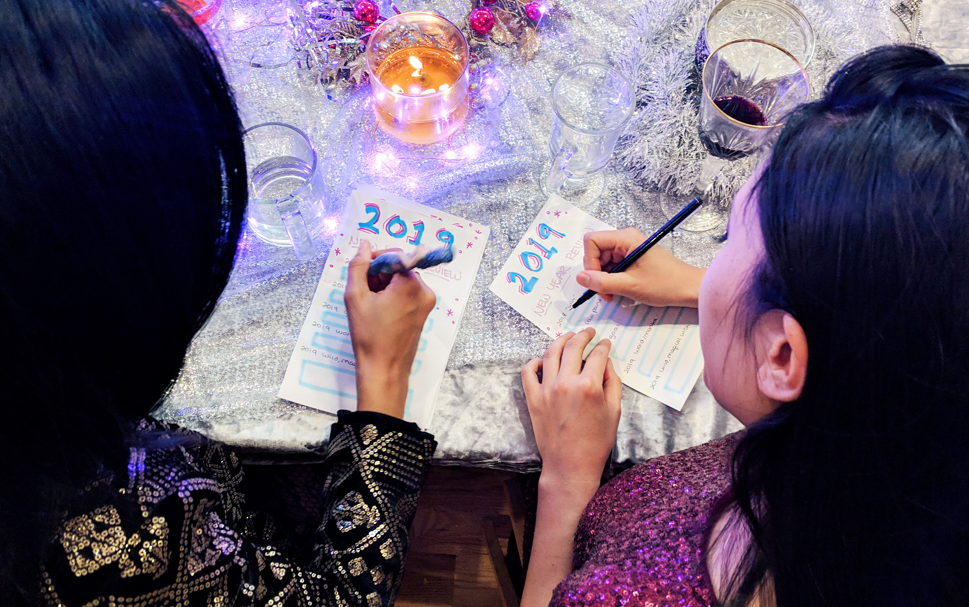 A Chill New Year's Eve at Home - Hey Mishka DIY Blog - Party Ideas (7)