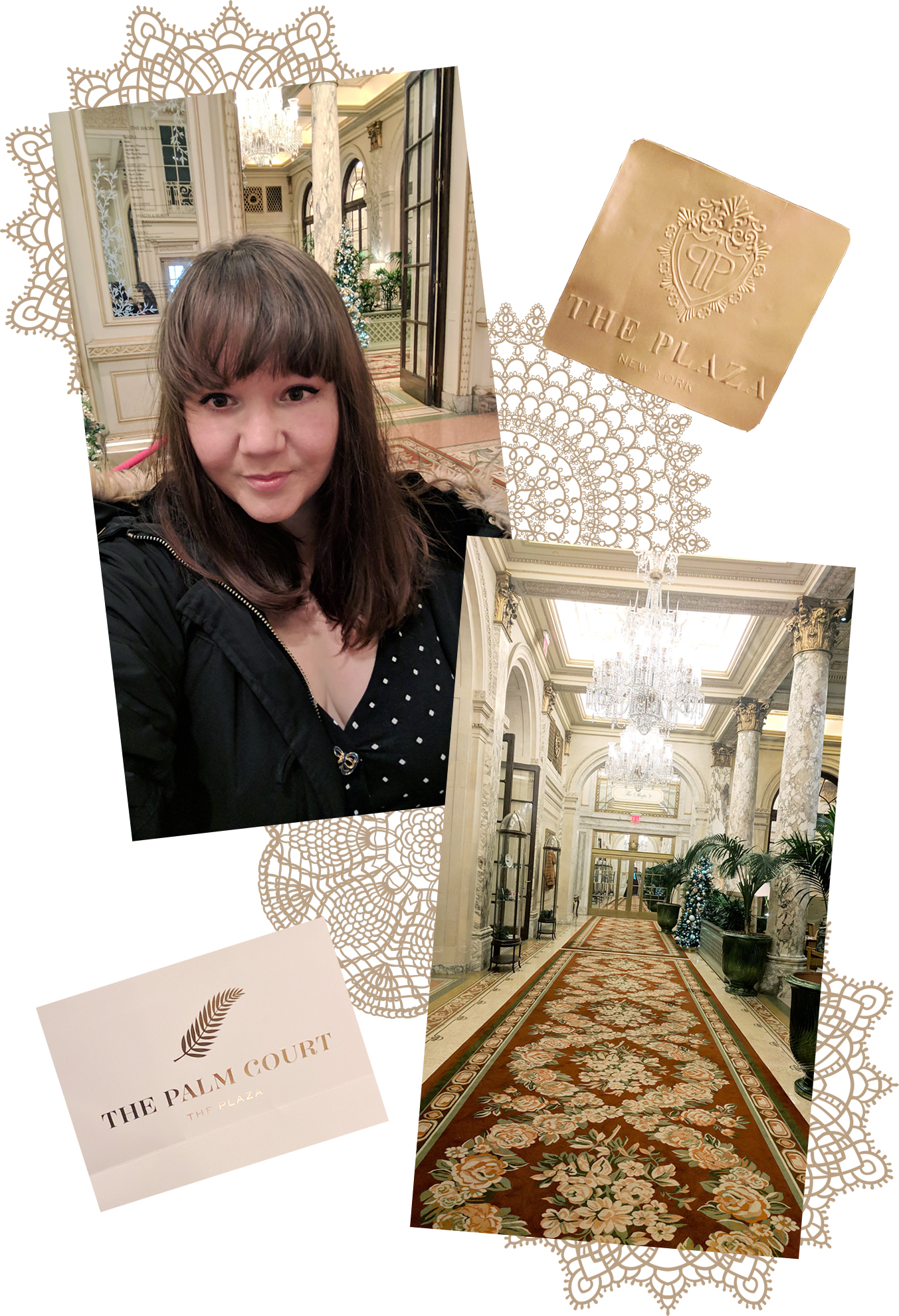 Christmas Tea at the Plaza Hotel - Hey Mishka - Holiday NYC Guide