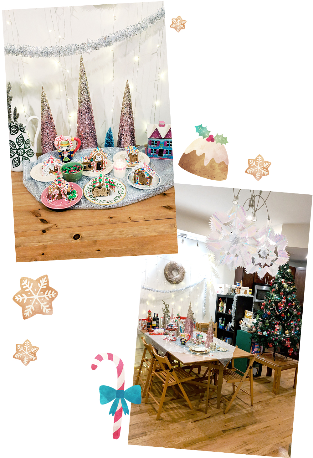 Gingerbread House Party - Hey Mishka Christmas DIY 001