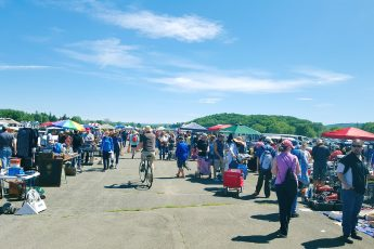Thrifting at the Biggest Yard Sale in New York - Stormville Airport's Ultimate Family Yard Sale - Hey Mishka