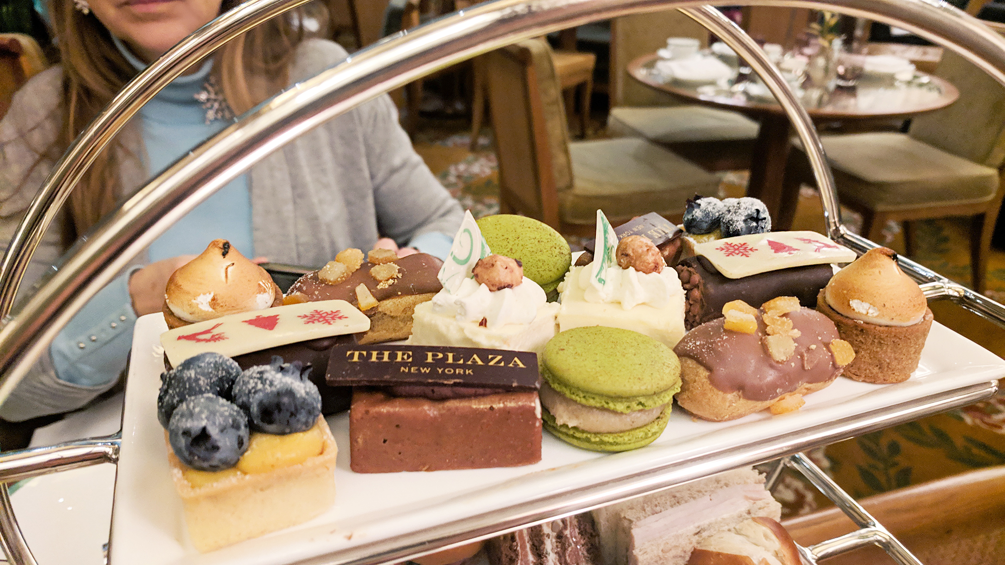 Christmas Tea at the Plaza Hotel - Hey Mishka - Holiday NYC Guide 4