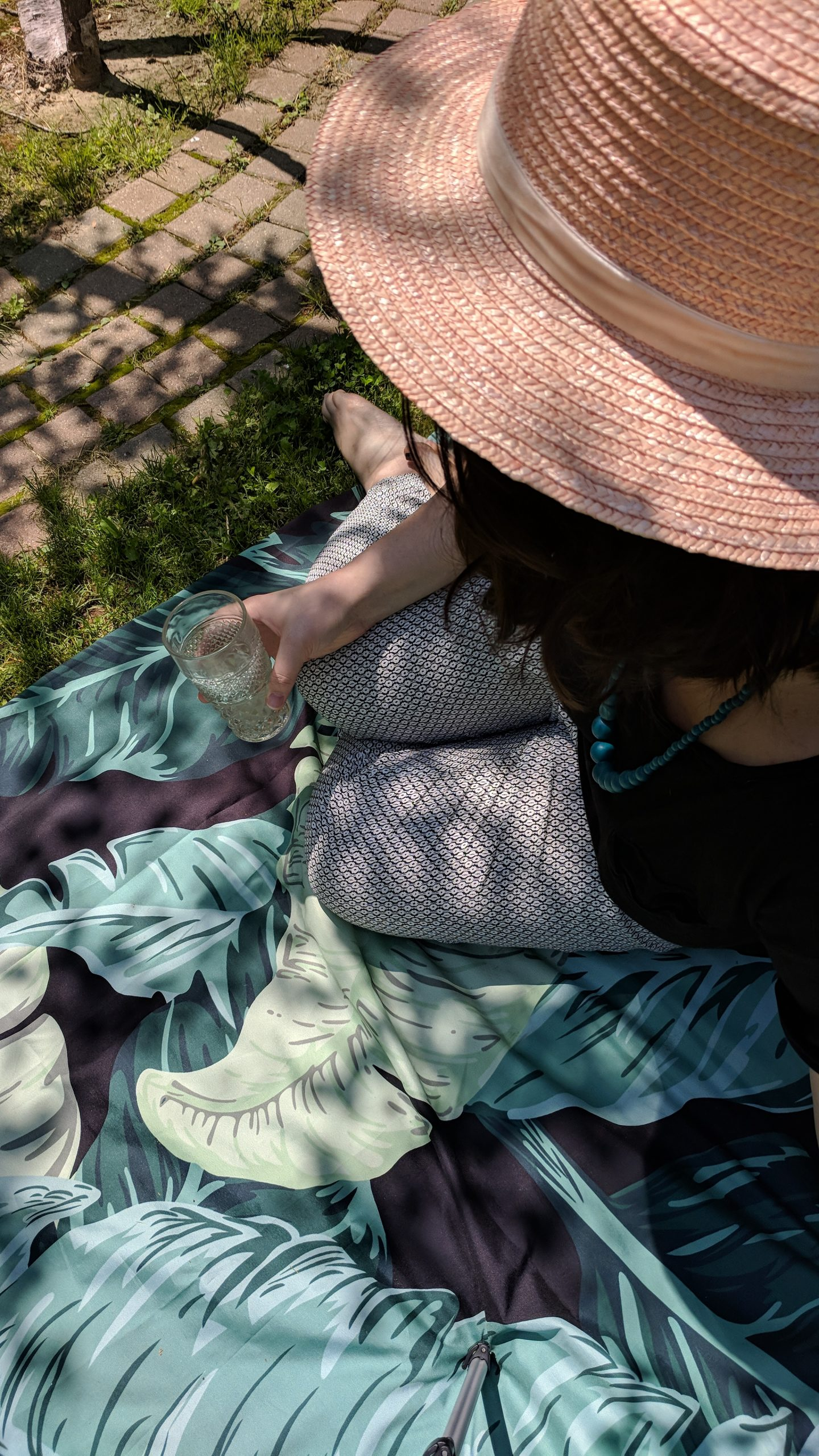 A Dreamy Little Picnic & Pink Boater Hat - Hey Mishka Blog- Lack of Color (7)