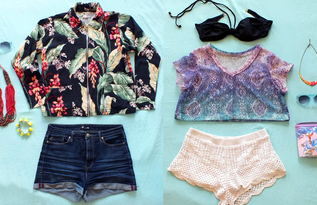 Tropical Summer Looks - outfit ideas - hey mishka blog - 000