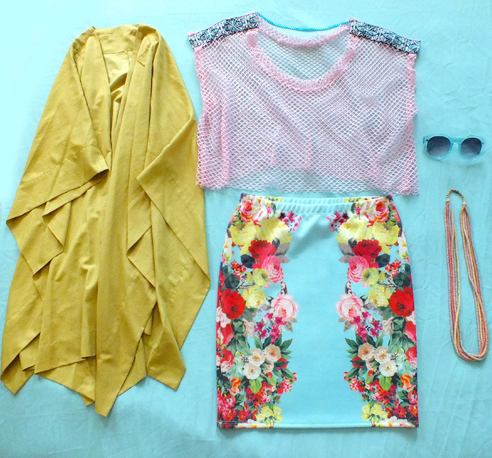 Tropical Summer Looks - outfit ideas - hey mishka blog - 003