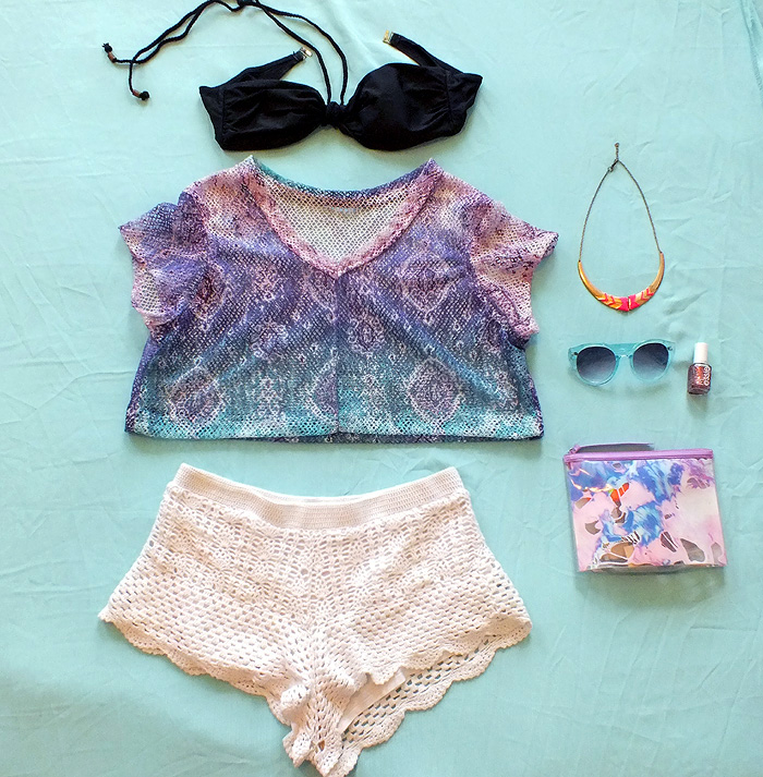 Tropical Summer Looks - outfit ideas - hey mishka blog - 005