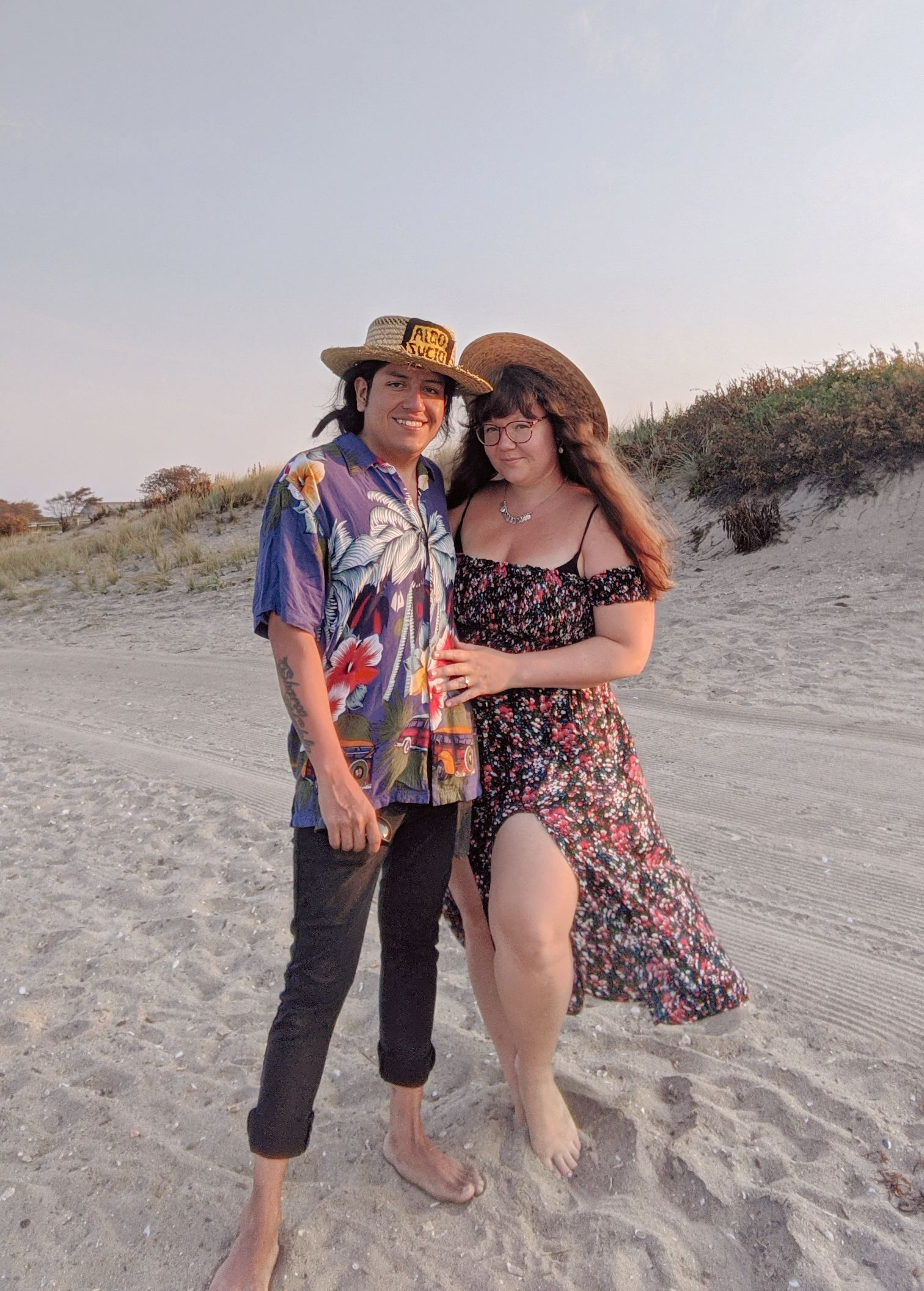 We're Engaged! A Perfect Proposal by the Beach - Hey Mishka Blog (1)