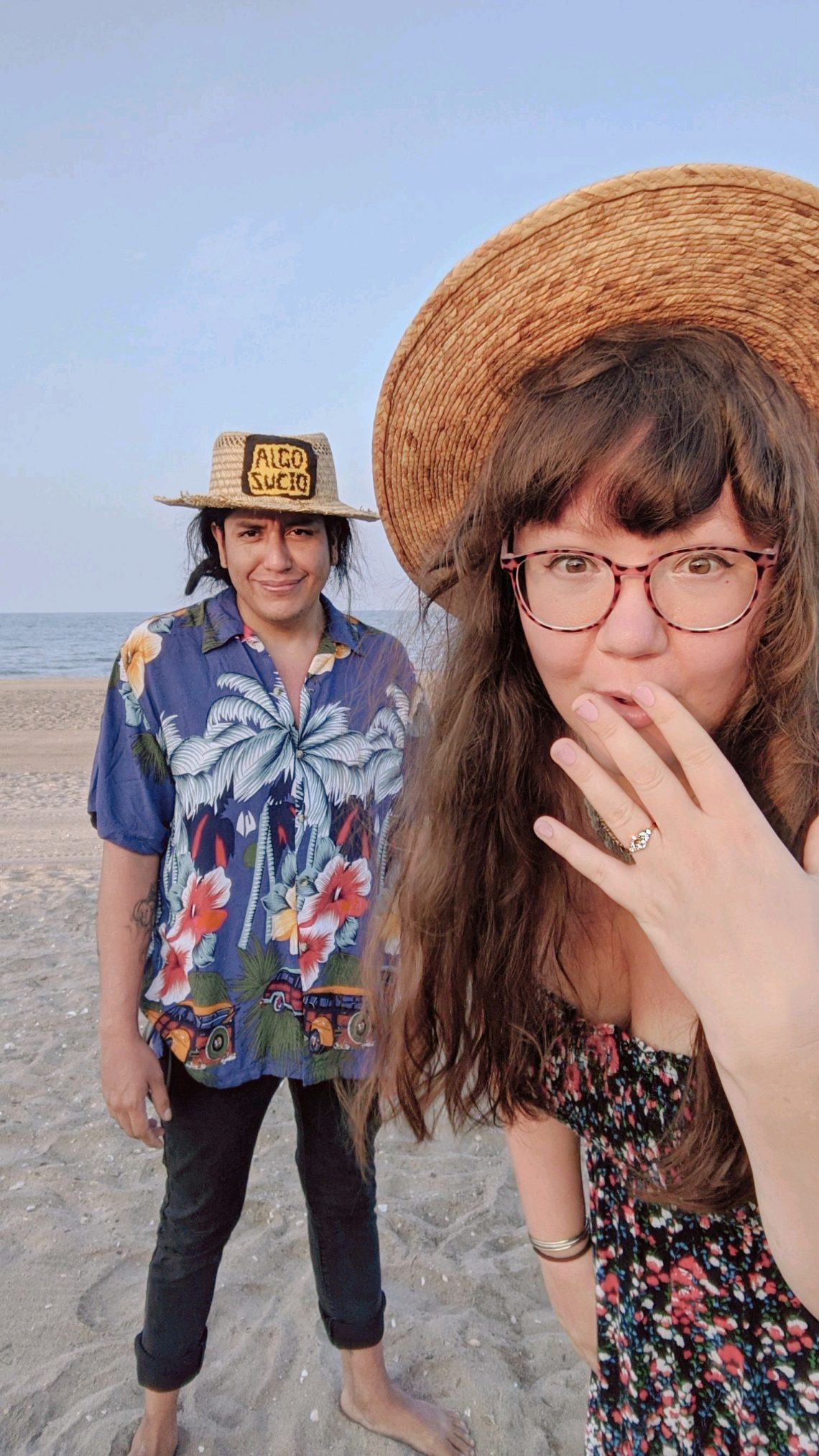 We're Engaged! A Perfect Proposal by the Beach - Hey Mishka Blog (2)