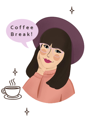 Hey Mishka Coffee Break Newsletter Sign Up